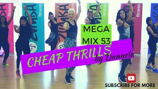 CHEAP THRILLS Zumba® cover MegaMix 53 with Celina and Danyela