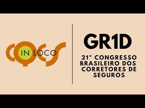 Imagem post: GR1D Insurance no 21º Congresso  Brasileiro dos Corretores de Seguros