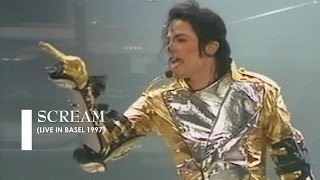 "Michael Jackson - ""Scream"" [live in Basel] (60fps)"