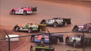 """""""Hangover 40"""" Super Late Model Feature from 411 Motor Speedway, December 31st, 2016."""