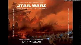 """Star Wars: Attack of the Clones -- """"Making Contact - Dreams [film version]"""""""