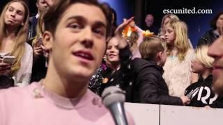 Benjamin Ingrosso - Good Lovin' Melodifestivalen 2017 Interview