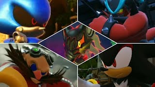 🔥 Sonic Forces - All Bosses & Ending & All Final Scenes