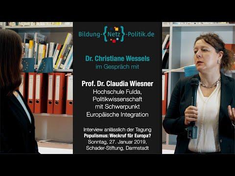 Europäische Identität-ein Interview mit Prof. Dr. Claudia Wiesner