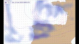 Weather forecast Biscay Bay 21-23 may 2014
