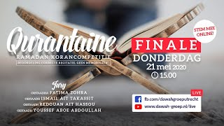 Qurantaine Ramadan Korancompetitie 21-05-2020