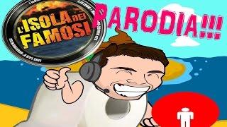 Parodia isola dei famosi 2016-Il tuffo di Marco