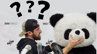 Was Dude Perfect Actually Going To Reveal Panda *exposed*