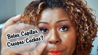 BOTOX CAPILAR em CRESPOS/CACHOS???