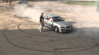 Mario & HYRO - Drift day - BMW E36 328i