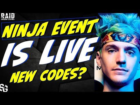 Ninja is here. Codes and breakdown. Raid Shadow Legends