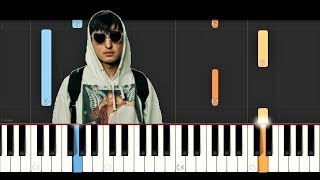 Joji - Attention (Piano Tutorial)