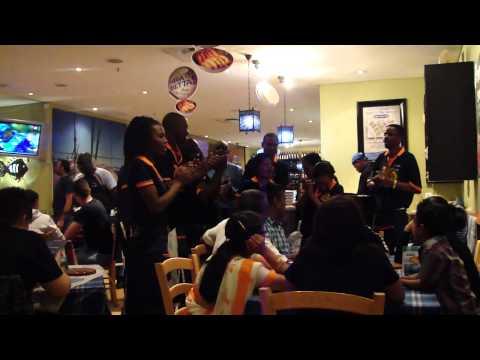 Comemoração de Aniversário estilo Sul Africano