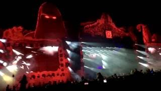 Major Lazer - Cold Water (feat. Justin Bieber & MØ) (Afrojack Remix) LIVE at Untold 2016