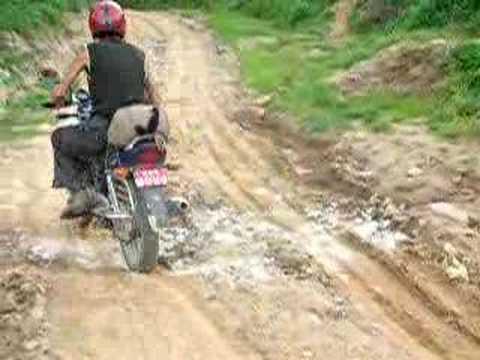 Rough Road to Nagarkot,Nepal