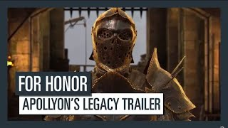 for honor apollyon legacy trailler