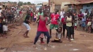 Ghetto Kids Dancing to BM - BALOBA FT DJ LEO