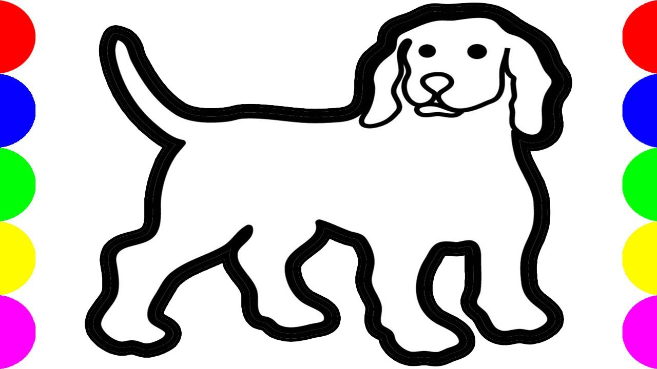Download thumbnail for HOW TO DRAW A DOG DRAWING PICTURES