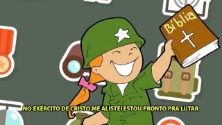 Canção: CRIANÇAS DO EXÉRCITO DE CRISTO... PRONTAS PARA LUTAR!!! | Informações na Descrição do vídeo!