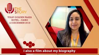 ندي أحمد تشارك في الملتقي العربي الأول لذوي النجاحات الخاصة (12 ديسمبر2018)