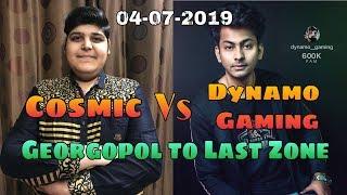 #DynamoGaming Dynamo Gaming Vs Cosmic YT + MDisCrazy + PK Gamer In End Zone Part 2 #ShaktimaanGaming