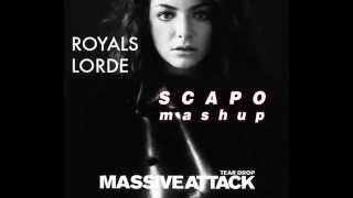 "Massive Attack & Lorde ""Royals Teardrop"" (SCAPO mashup)"