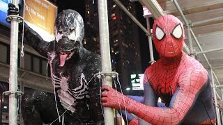 Spider-Man VS Venom - Real Life Superhero Battle