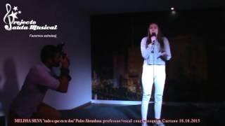 """Melissa Silva """"tudo o que eu te dou"""" Pedro Abrunhosa"""