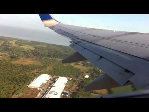 737 Takeoff from Managua, Nicaragua