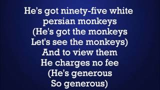 Aladdin - Prince Ali (with lyrics)
