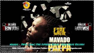 Mavado - Paypa (Paper) (Raw) Fire Supreme Riddim - May 2014