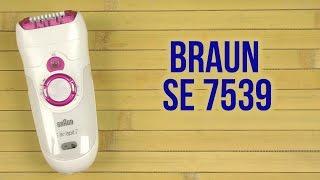 Распаковка BRAUN SE 7539