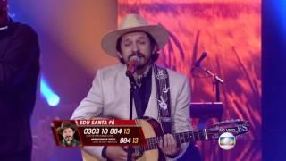 Edu Santa Fé canta 'Tristeza do Jeca' no The Voice Brasil - Shows ao Vivo | 4ª Temporada