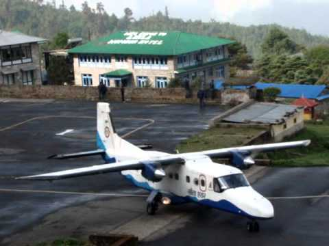 Tenzing-Hillary Airport Lukla – Nepal- Mahesh Malnad Videos