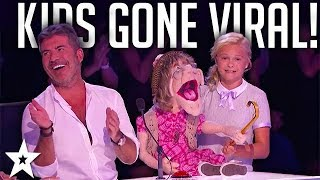MOST VIRAL Kids Auditions on Got Talent WORLDWIDE