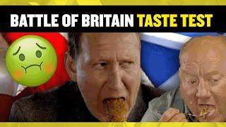MUST WATCH!! Taste Test🤢🤣 | Battle of Britain Scotland VS England with Alan Brazil & Ray Parlour