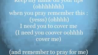 21:03 - Cover Me (Lyrics with Adlibs)