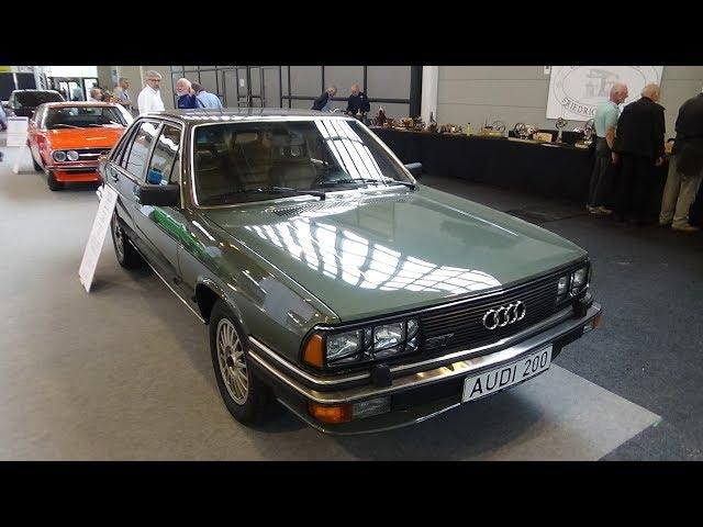 1979  - 1982 Audi 200 5T Typ 43 - Klassikwelt Bodensee 2017