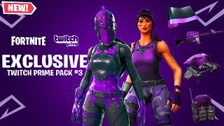 Twitch Prime Fortnite Pack 3 | Fortnite Aimbot Download On Ps4