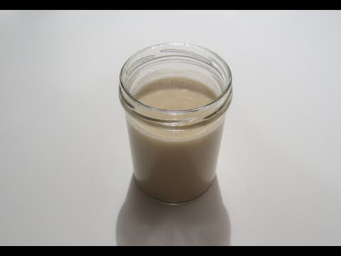 كيف تصنع طحينه بيضاء اللون ?