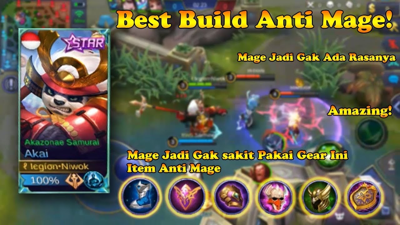 Download thumbnail for BEST BUILD ANTI MAGE  Mage Jadi Gk