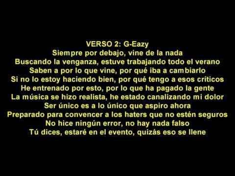 Vengeance On My Mind En Espanol de G Eazy Letra y Video