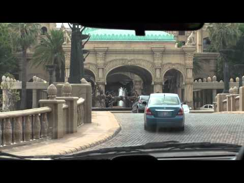 Driving around Sun City – South Africa