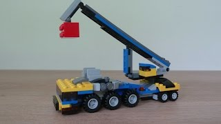 LEGO 31033 LEGO CREATOR 3 IN 1 2015 Vehicle Transporter Mobile Crane (2/3)