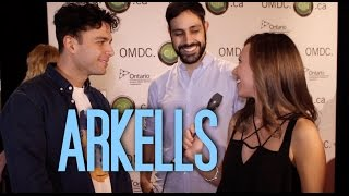 Interview with ARKELLS at OMDC's Juno Nomination Party