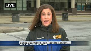 Live shot: Bucks-Raptors Game 3