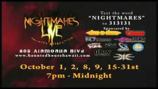 X-1 World Events, DBoy Productions, and Okada Entertainment Presents: NIGHTMARES LIVE 2010