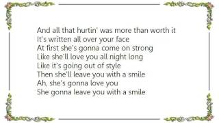 George Strait - She'll Leave You With a Smile Lyrics