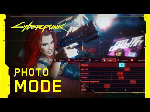 WTFF::: Cyberpunk 2077\'s Photo Mode Looks Robust in New Trailer