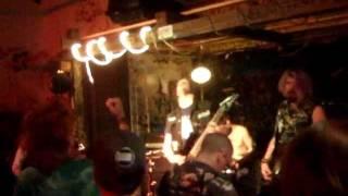 Aggrenation - Doomsday live 2011.10.22 @ Härden, Göteborg